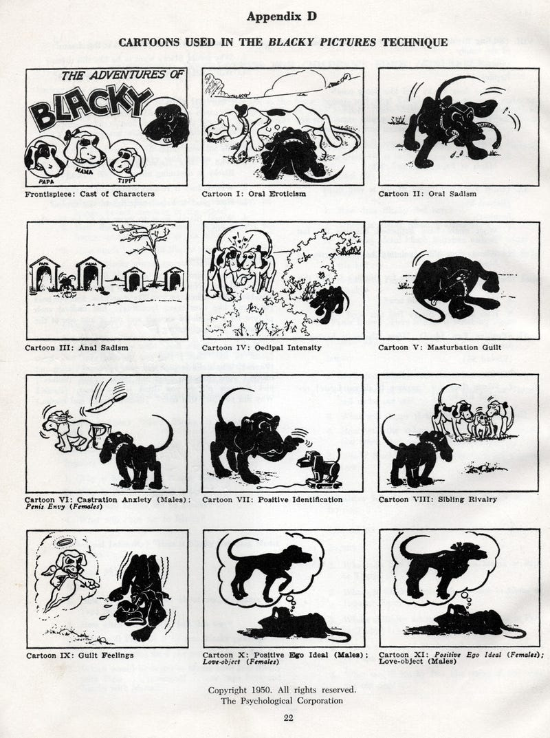 """The """"Blacky Pictures"""" are the scariest psychological test ever"""