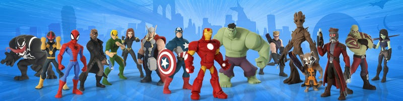 Disney Infinity: Marvel Superheroes Comes Out on September 23
