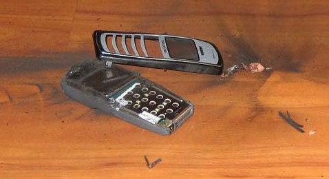 Pics: Exploding Cellphone?