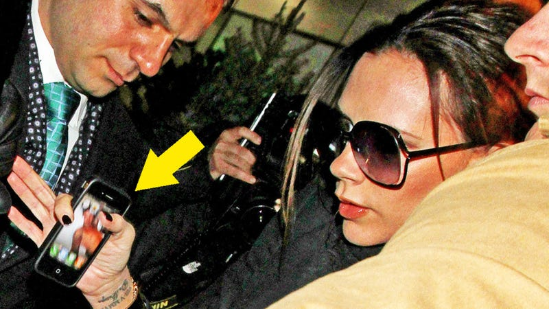 Victoria Beckham's iPhone Background: Naked Picture of Her Husband