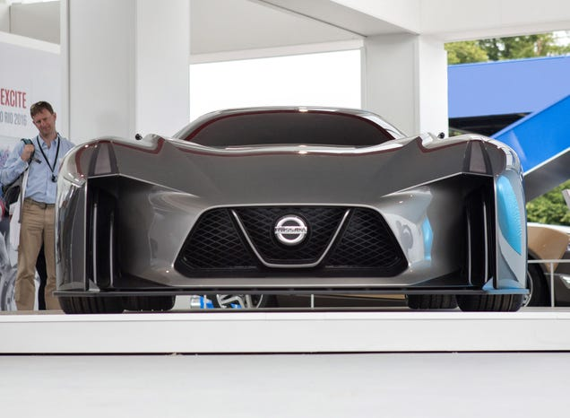 The Nissan Concept 2020 Is Obviously The SciFi Future Of The GTR