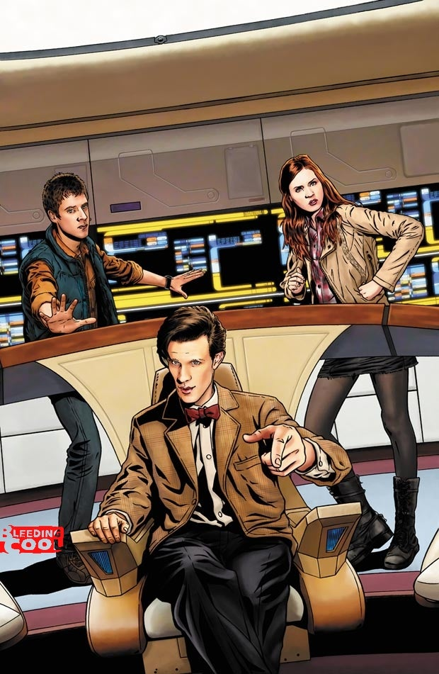 A Doctor Who/Star Trek comic is coming!