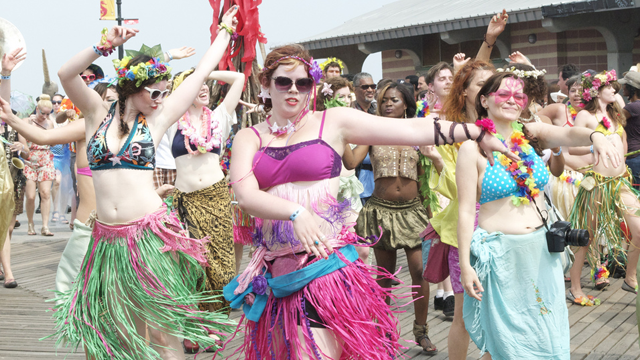 A Look At The 2011 Coney Island Mermaid Parade