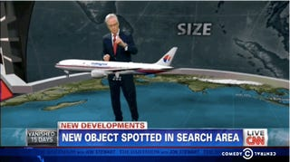 What is CNN going to do when the mystery of Flight 370 is solved?
