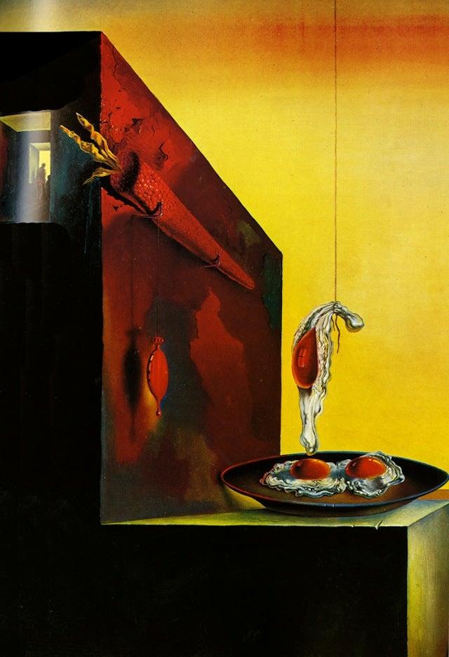 Salvador Dalí's Sensuous Cookbook Is As Nightmarish As You'd Imagine