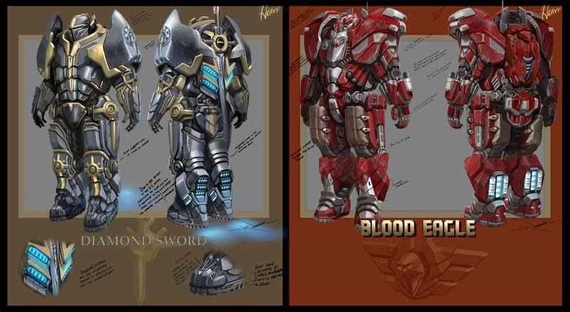 What the Sharp-Dressed Heavy Will Be Wearing in Tribes: Ascend