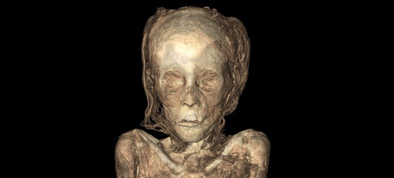 New Mummy X-Rays Let You Peer Right Inside Ancient Egyptian Bodies