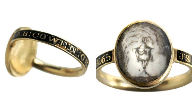 Love after Death: The Beautiful, Macabre World of Mourning Jewelry
