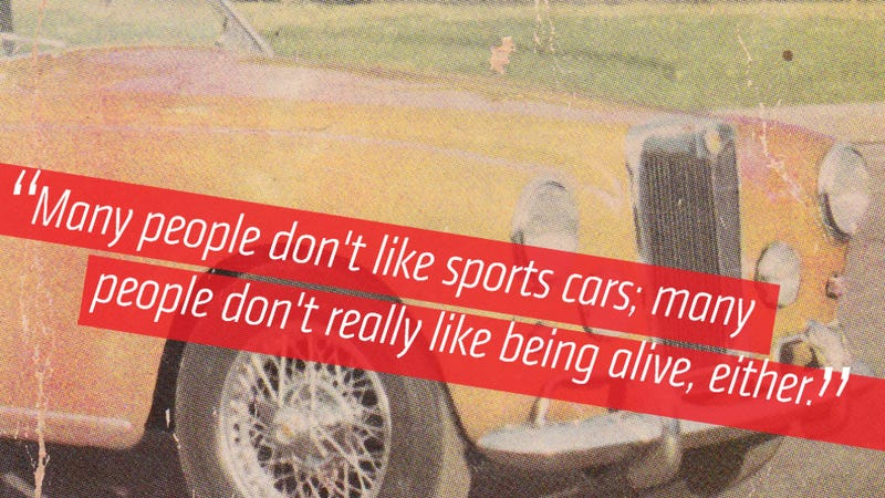 Americans Used To Think Sports Car Owners Were 'Freaks'