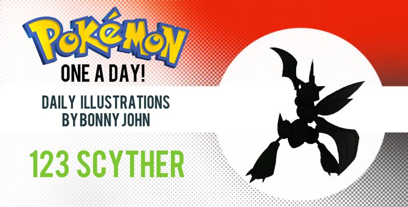 Sizin' Up Scyther! Pokemon One a Day!
