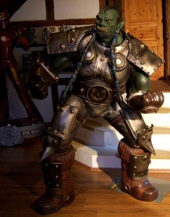 Wife or Six-Foot Orc Statue? Warcraft Fan Forced to Choose