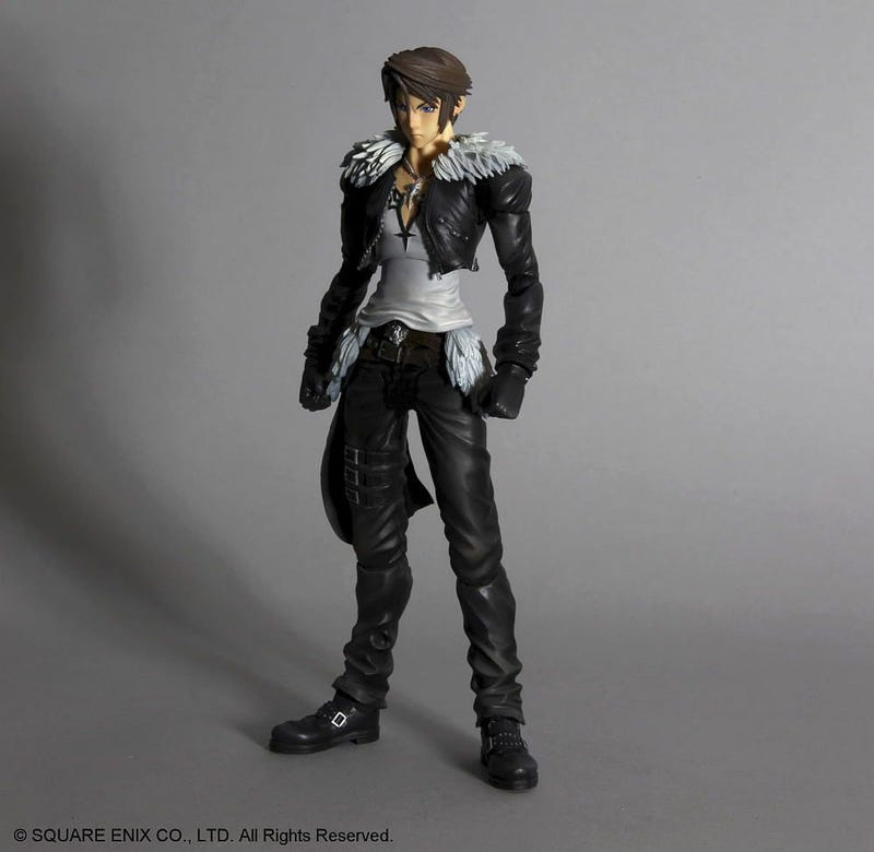The Beautiful Hair And Big Swords Of Some New Final Fantasy Figures