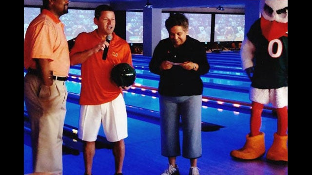 Yes, Donna Shalala Went Bowling With The Rogue Miami Booster And Sebastian The Ibis