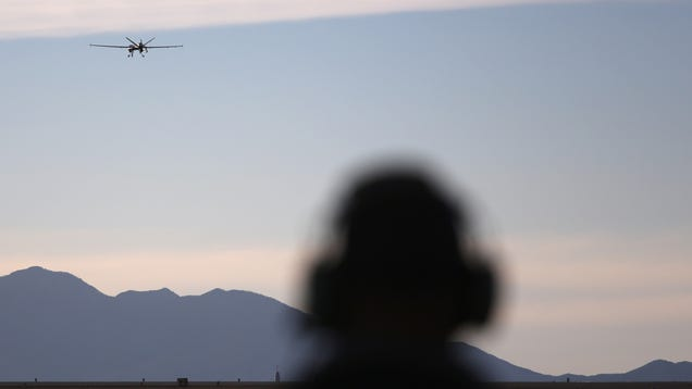 American Drones Are Killing ISIS Hackers Now