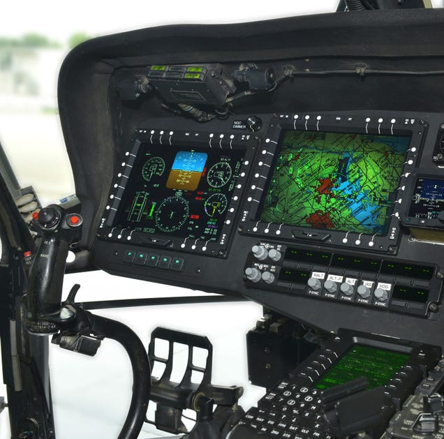 Black Hawk Choppers Are Finally Getting the Digital Cockpits They Deserve