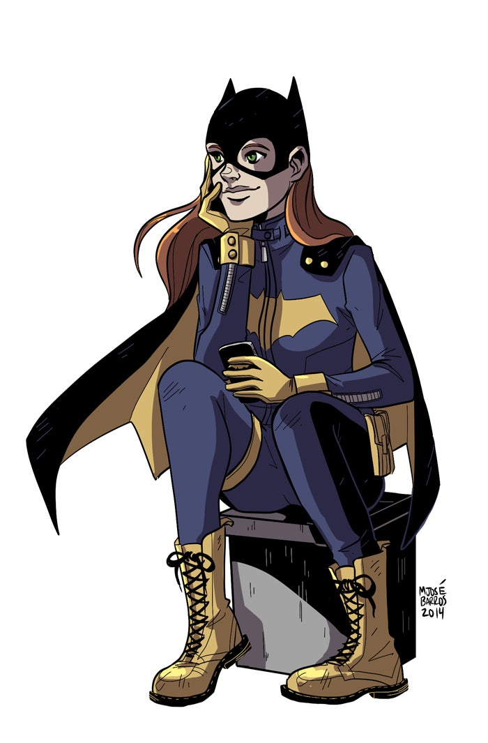 There Is Already Tons Of Amazing Fan Art Featuring Batgirl's New Costume