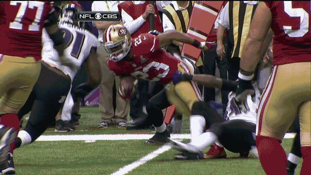 LaMichael James Pulled Off An Awesome Spin Move And Then Oooof