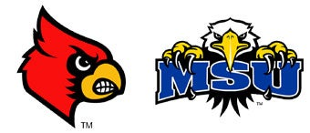 NCAA First Round: (1) Louisville vs. (16) Morehead State