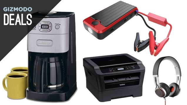 Jump Start Your Car, Your Phone, and Your Morning Routine [Deals]
