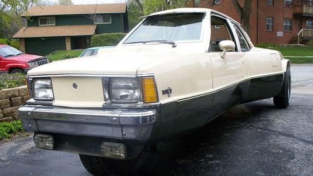 Meet the Triation, a three-wheeled Chevy Citation
