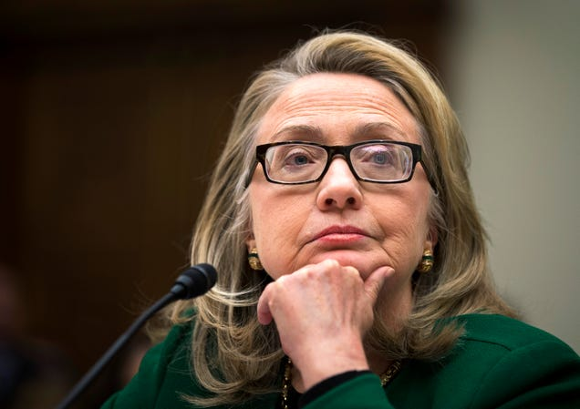 Clinton Received Now-Classified Benghazi Emails to Her Private Account