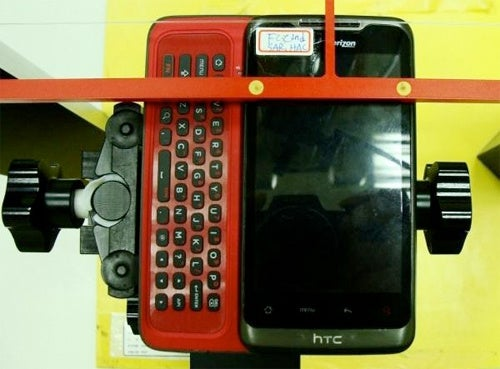I Can't Wait To Tap My Fingers On the HTC Vision/Vanguard's Chiclet Keypad