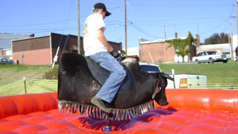 A Week Into the Shutdown, Government Buys $47,174 Mechanical Bull