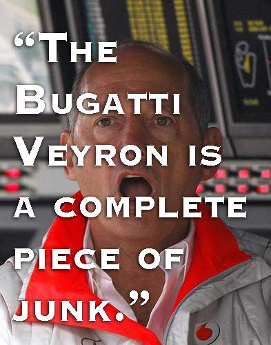 — Ron Dennis, Executive Chairman of McLaren Automotive