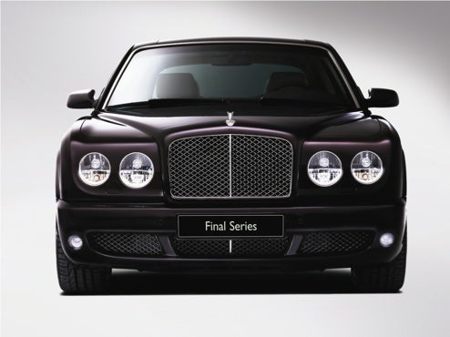 "Bentley Arnage Final Series: Even Bigger Luxury For The Big ""B"""