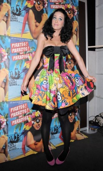Katy Perry Loves Muppets; A Hilarious Story Involving Kate Moss, Journey, & A Man In A Thong