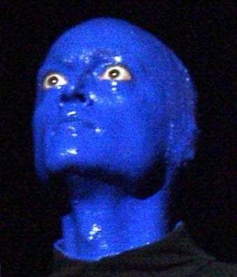 Blue Man Group Weirdos Will Play With Your Child For $30,000