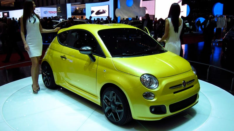 Zagato Fiat 500 Coupé is model bait