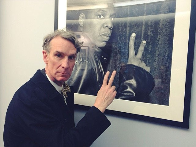 Have Bill Nye and Jay-Z ever met in person?