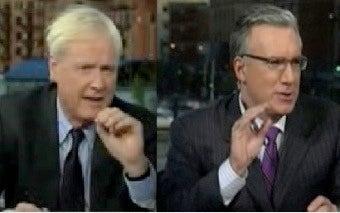 Chris Matthews Settles For Less Than Olbermann