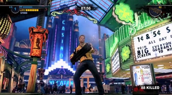 Some Dead Rising 2 Gameplay