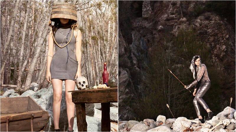 This Photo Series Is What Happens When Fashion Photography Meets Skyrim