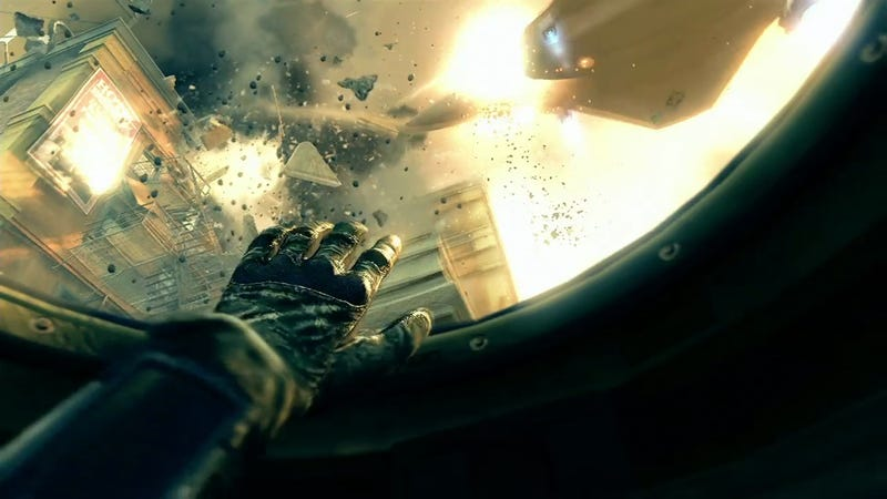 Explosive, Horse-Laden Screengrabs From Black Ops II's First Trailer