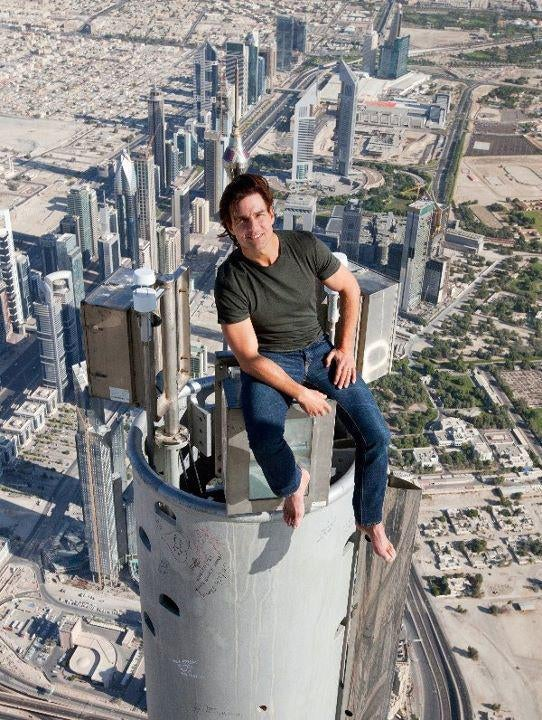 Brad Bird tells us how it feels to throw Tom Cruise out of a 1,717-foot building!