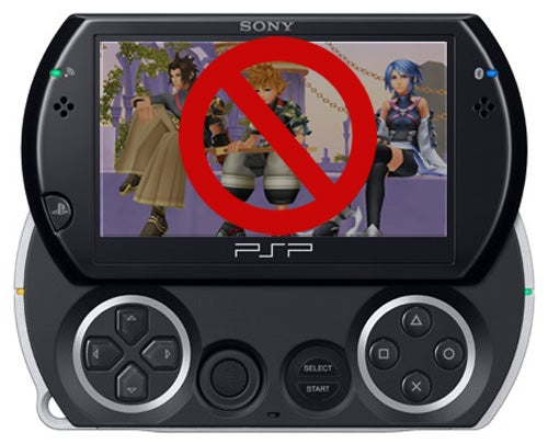 No Kingdom Hearts: Birth By Sleep For PSP Go Owners