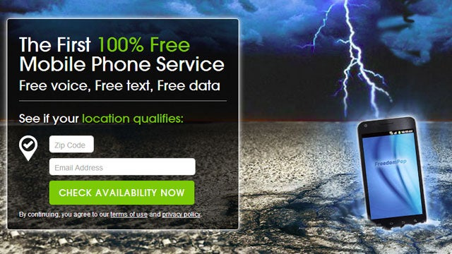 FreedomPop Now Offers Completely Free Mobile Phone Service