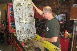 The Lonely Pinball Repairman