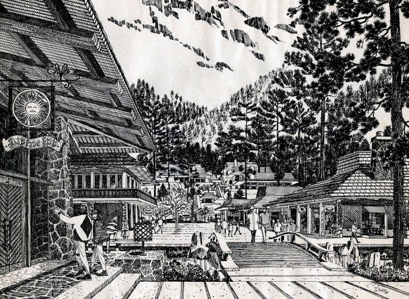 In the '60s, Disney Almost Built a Ski Resort in Sequoia National Park