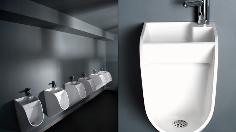 Would This New Urinal Design Make Men Wash Their Hands?