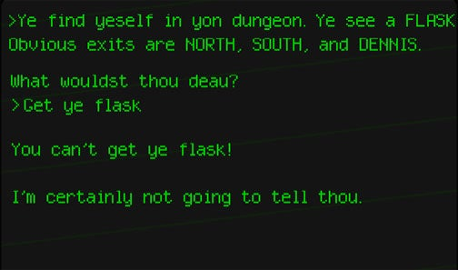 The GDC Text Adventure Gives Me Flashbacks
