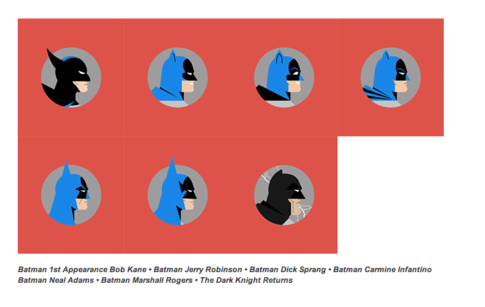 All the Masks Batman's Worn Over 75 Years