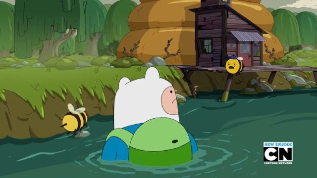 Finn Is Lost In The Darkness On This Weeks' Adventure Time