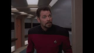 Jonathan Frakes is Will Riker, Ensign Chaser in TNG Season 7's Gag Reel