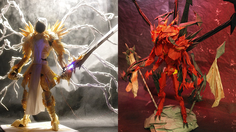 Diablo Origami Is Glorious