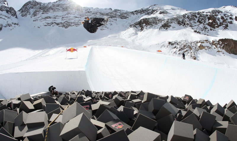 The Secret Snowboarding Superpipe