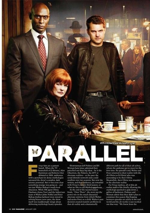 Fringe SFX Magazine Scans